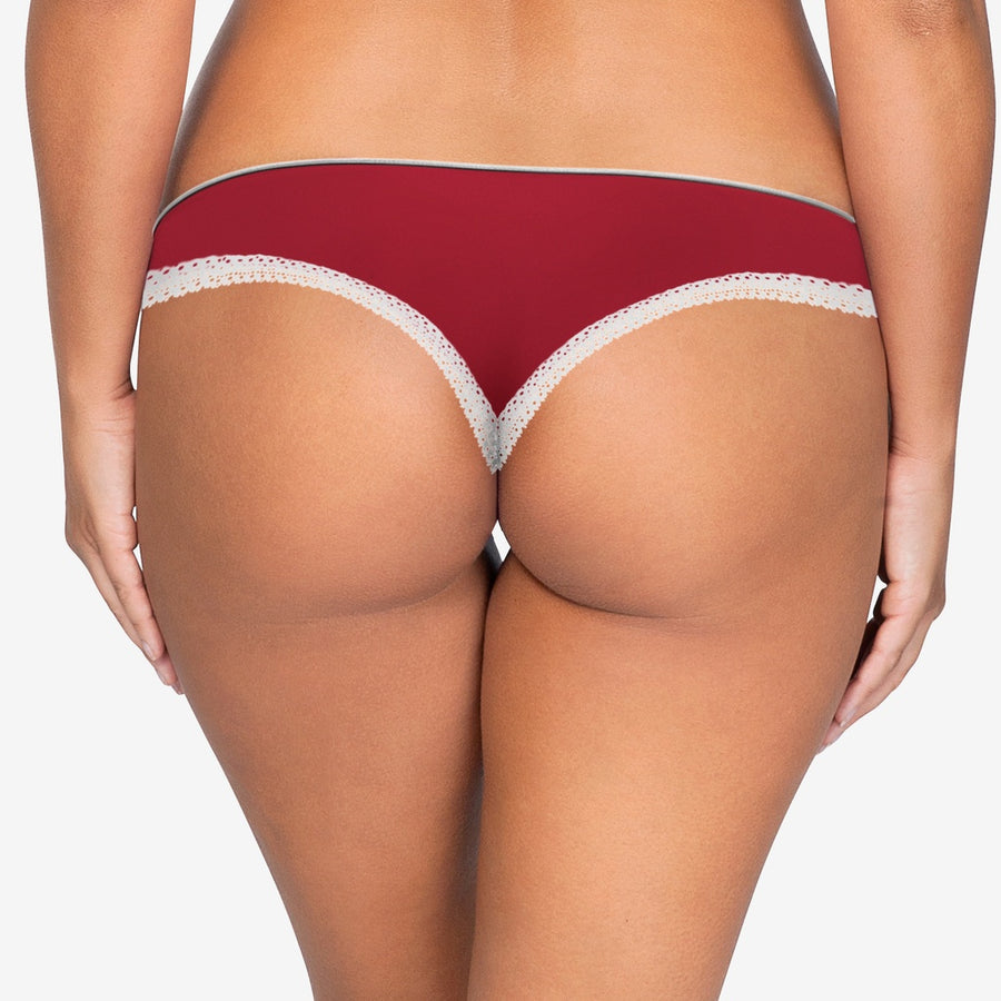 Parfait Panty Thong In Tango Red Lingerie Underwear