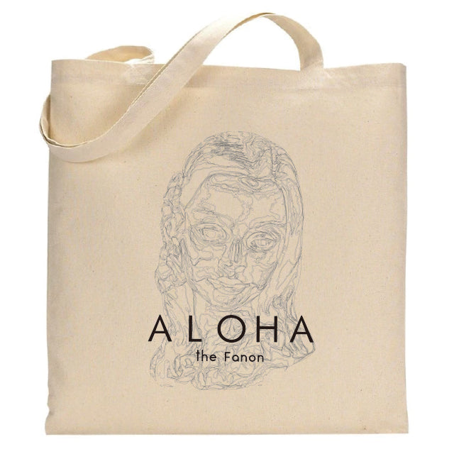 [BAG] HULA GIRL FACE  TOTE