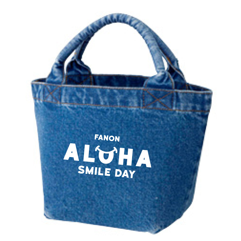 [BAG] DENIM LUNCH TOTE BAG