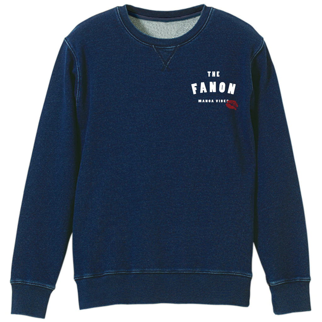 MANOA SECRET LABO. DENIM SWEAT (ONE WASH)