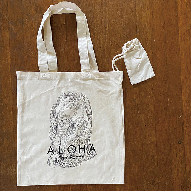 [BAG] HULA GIRL FACE TOTE w/z S POUCH
