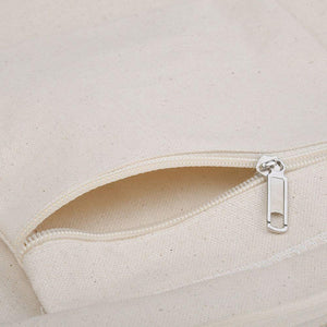 [BAG] KEEP PADDLING LARGE ZIP TOTE BAG