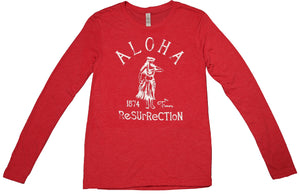 [MAN] HULA LONG SLEEVE TEE