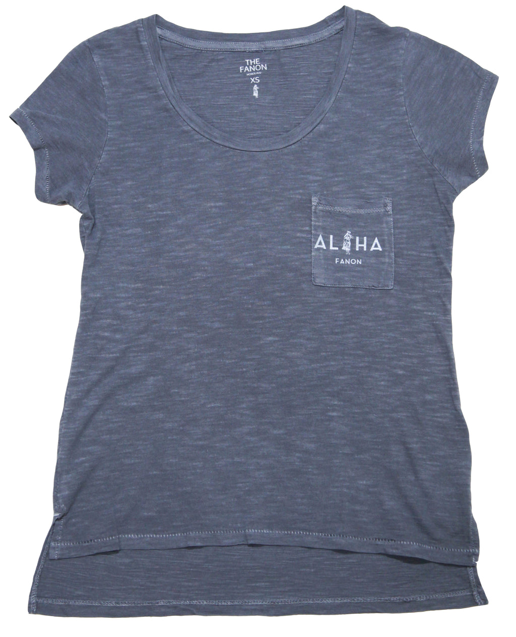 [WOMAN] ALOHA POCKET TEE