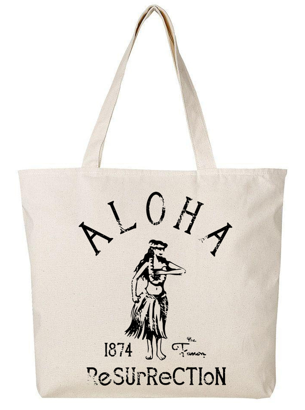 [BAG] HULA LARGE ZIP TOTE BAG
