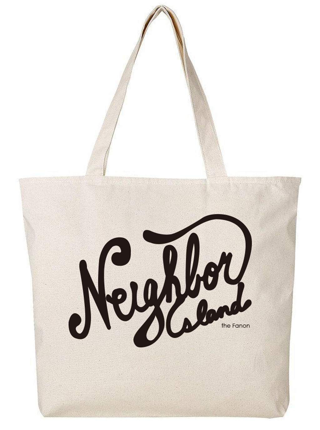 [BAG] NEIGHBOR ISLAND LARGE ZIP TOTE BAG