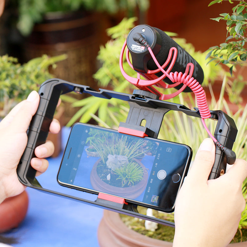 Step up your VLogging game with the Ulanzi Pro Smartphone Video Rig and Stabilizer. - tigers-galleria