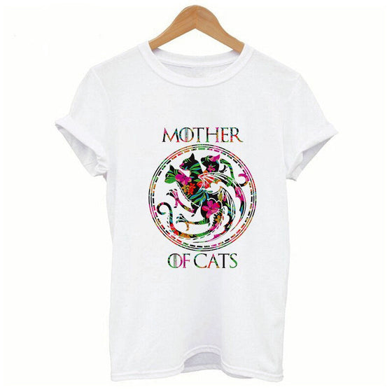 Mother of Cats T-shirts for Khaleesi of the Great Suburban Plains