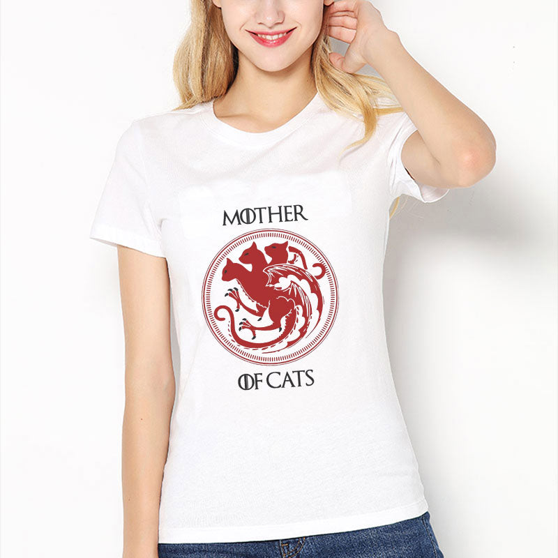 Mother of Cats T-shirts