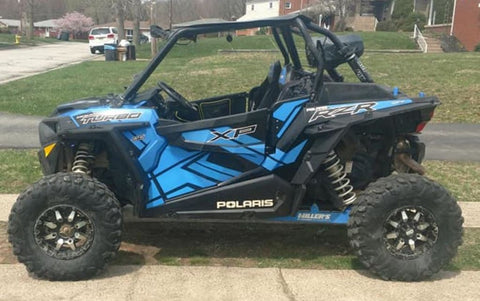 2017 Velocity Blue XP Turbo Door Graphics