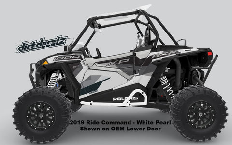 Lower Door Graphics - RZR XP1000 – Dirt Decalz