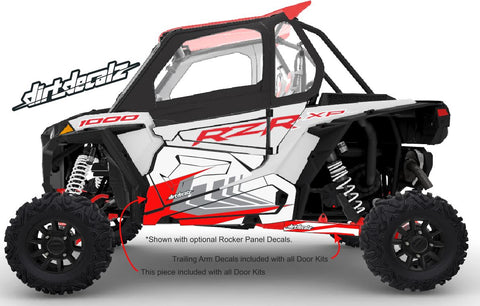 2020 White Lightning XP 1000 Door Graphics