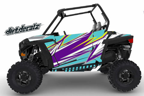RZR S 900 / RZR S 1000 - Bolt Graphic