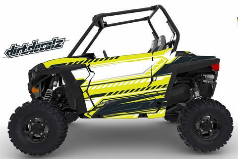 RZR S 900 / RZR S 1000 - Flow Graphic