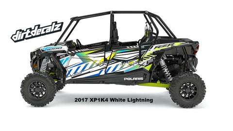 2017 White Lightning XP4 1000 Door Graphics