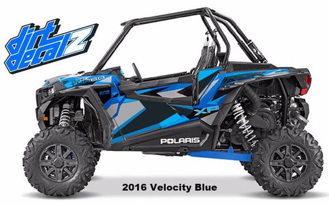 2016 Velocity Blue XP Turbo Door Graphics