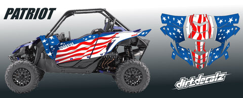 YXZ 1000 R - Patriot Graphic