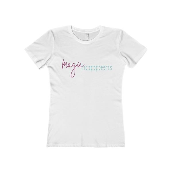 Magic Happens - Women's The Boyfriend Tee
