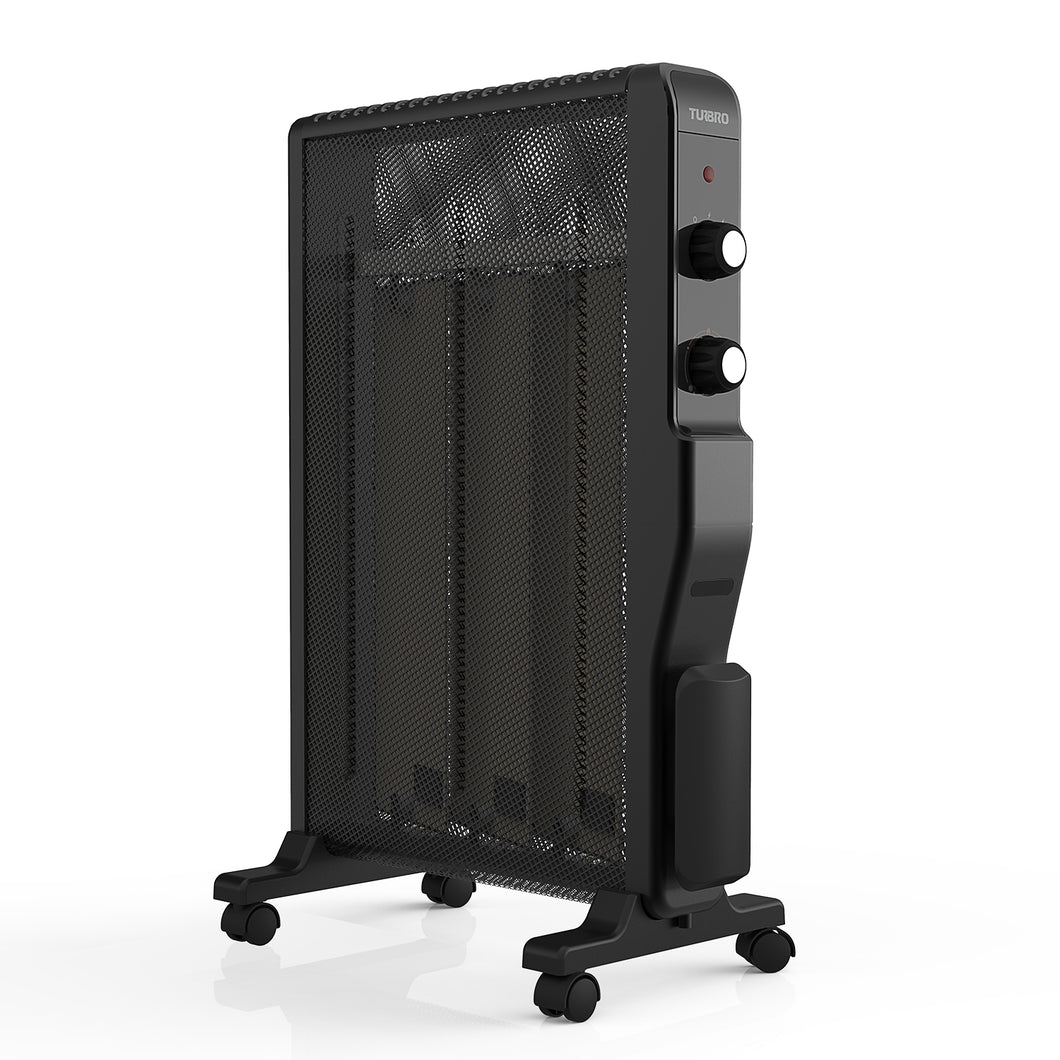 Arcade HR1500 Mica Electric Space Heater, Black
