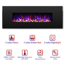 Reflektor BR48 Wall Mounted / Freestanding Electric Fireplace