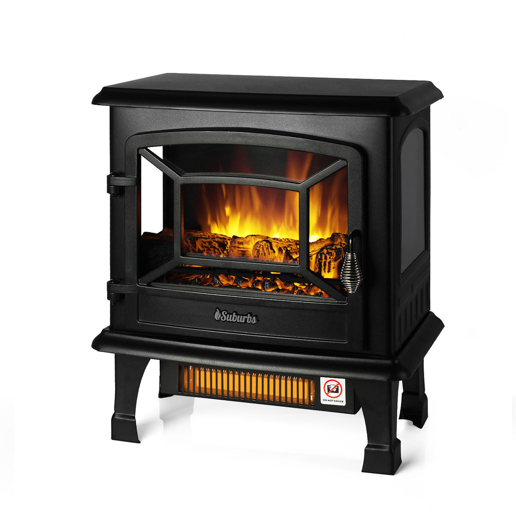 Suburbs TS20 Freestanding Electric Fireplace Stove
