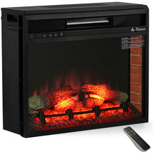 In Flames INF33 in-Wall Recessed Electric Fireplace