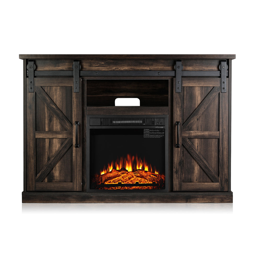 Fireside FS48 TV Stand with Fireplace, for TVs up to 55