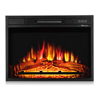 Fireside FS23 Realistic Flames Electric Fireplace, 23'' (Remote Control)