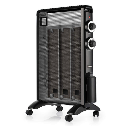 Arcade HR1015 Mica Electric Space Heater, Black