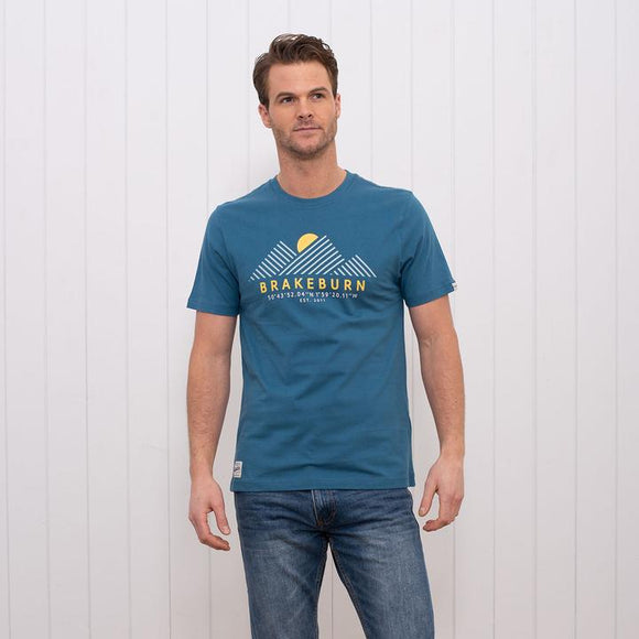 Brakeburn Mountain Sunrise T-Shirt