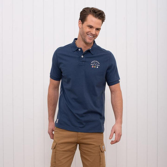 Brakeburn Embroidered Polo