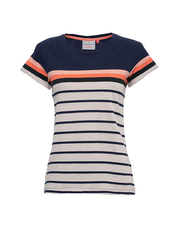 Brakeburn Block Stripe T-Shirt