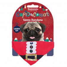 Dog Christmas Santa bandana