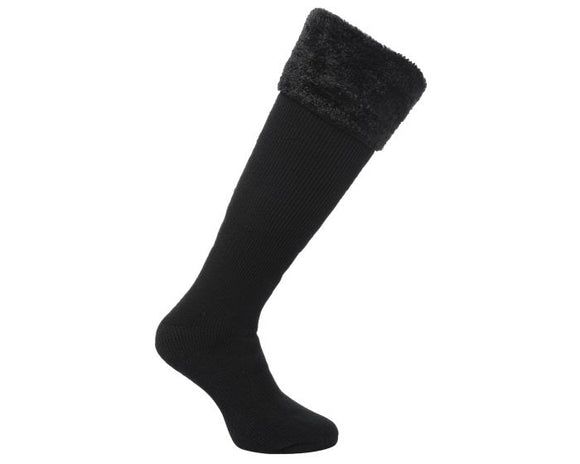 Regatta Faux Fur Welly Sock