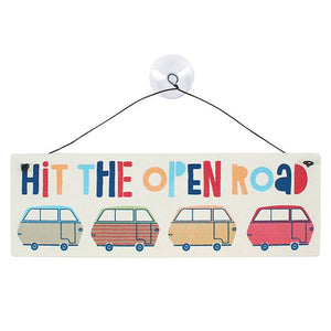 Hit The Open Road Window Sticker