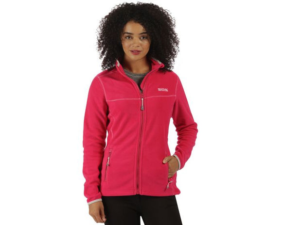 Ladies Pink Regatta Fleece