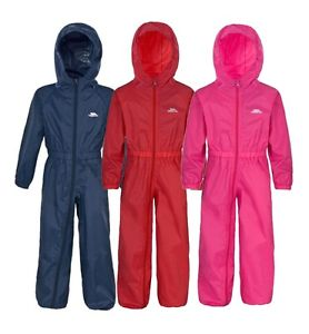 Trespass kids rain suit