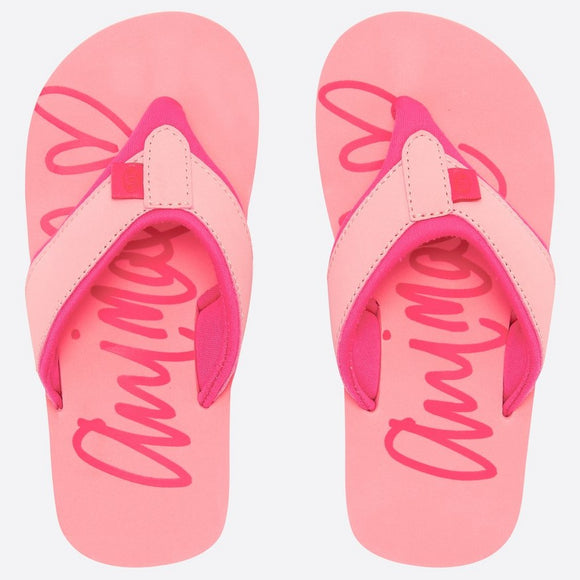 Animal Swish Girls Flip Flops