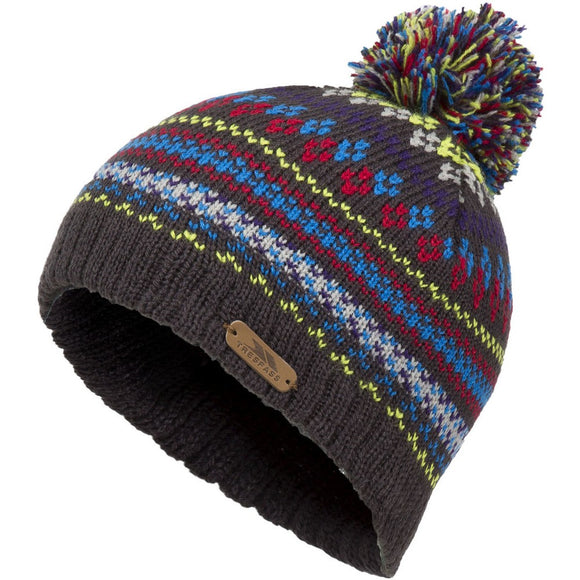 Trespass children's bobble hat