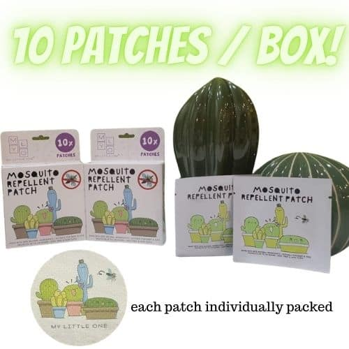 MyLO Mosquito Repellent Patch (10 patches / box)