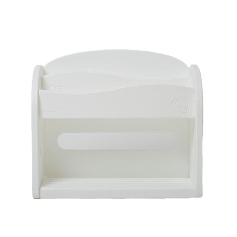 Easy Wave Book Shelf White