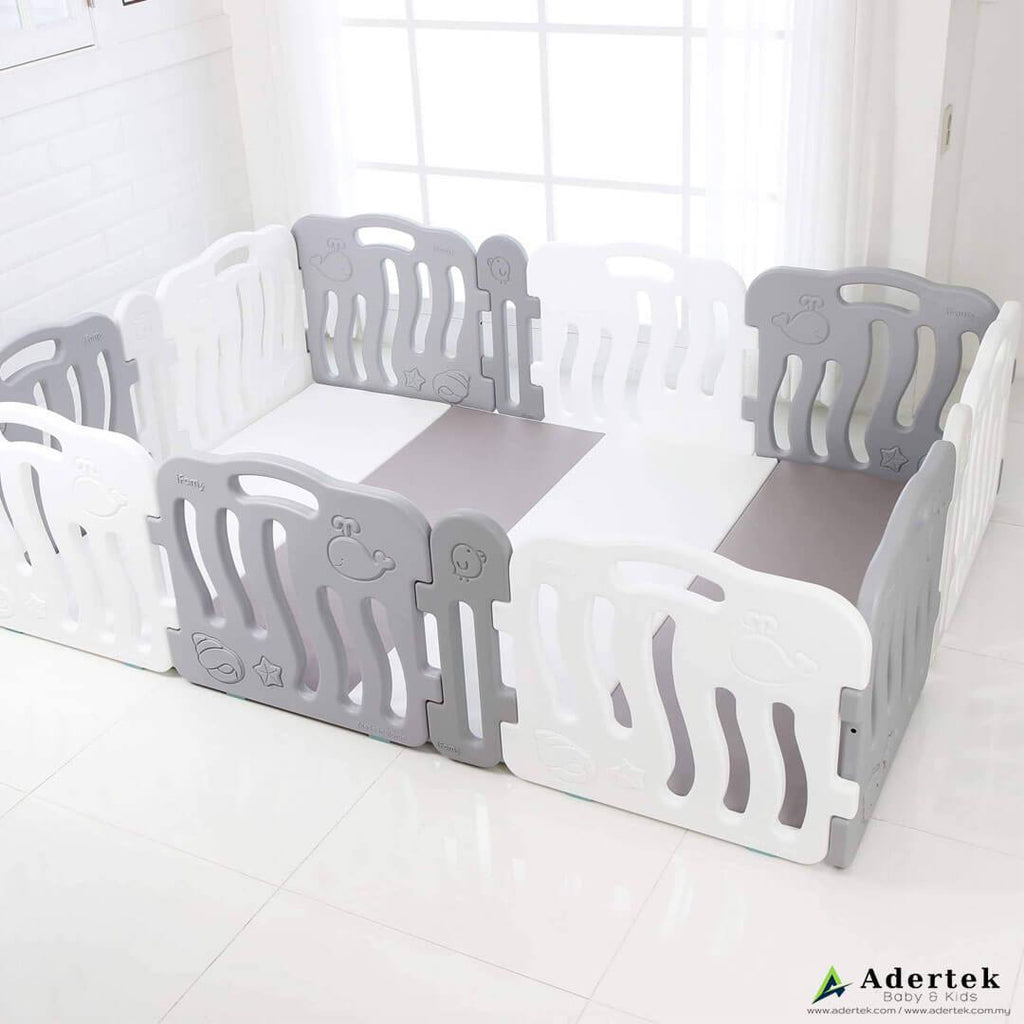 Baby Play Yard Fit-in Extension Panels (4pcs) - IFAM (Made in South Korea) - Adertek Lifestyle