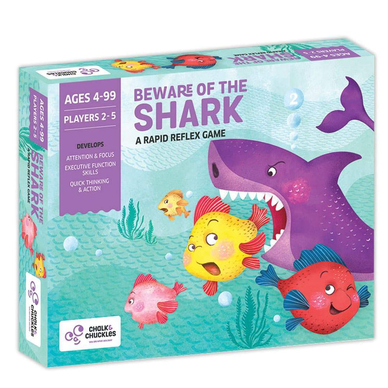 Beware Of The Shark Box