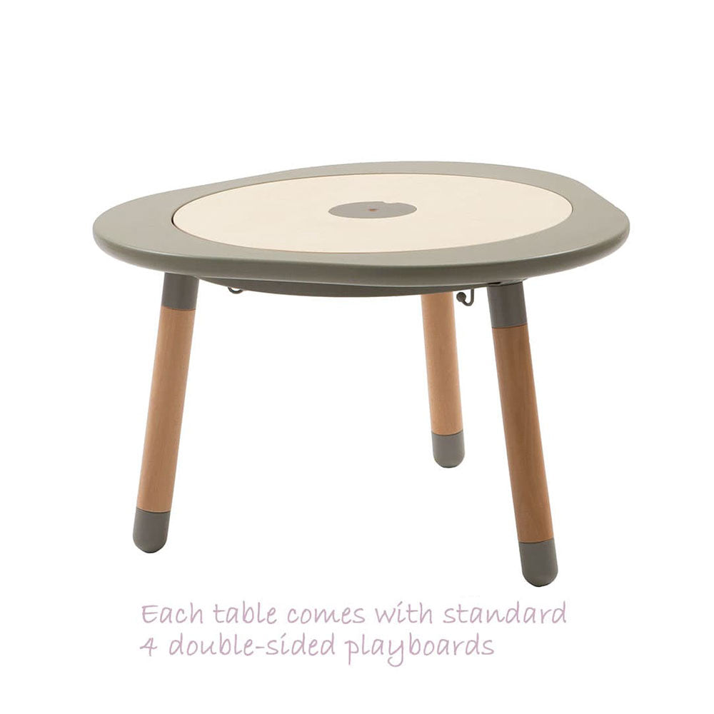 MUtable - Children Activity Play Table (1-8yo) - Dove Grey