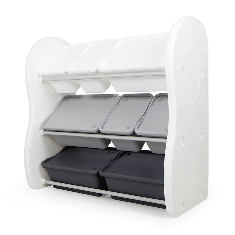 Elephant Storage Rack (4 Big 4 Small) - Gradation