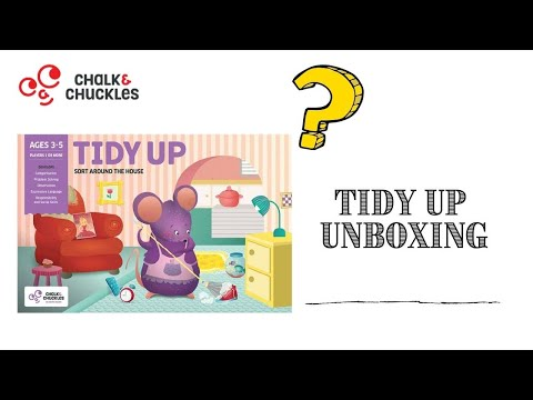 Tidy Up: Sorting and Organizing Cooperative Game Play for Preschoolers (3-5yo)