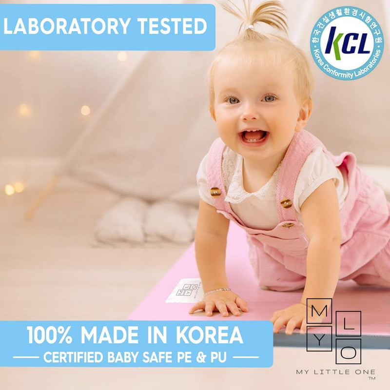 Baby safe PE & PU tested by KCL Korea