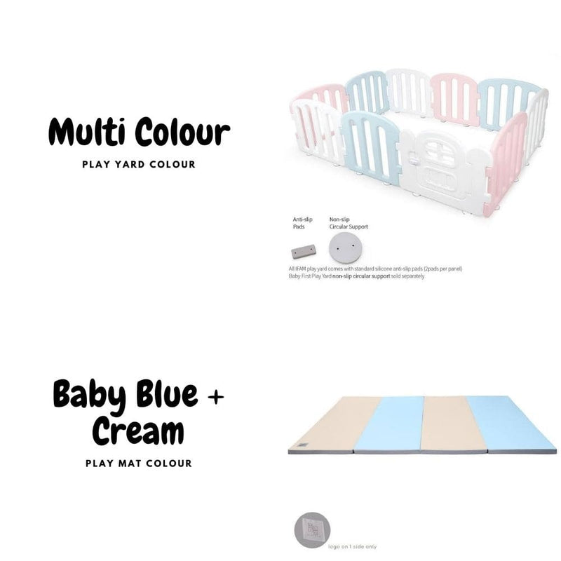 Baby FIRST Play Yard + Play Mat Bundle (10% OFF + FREE Delivery)