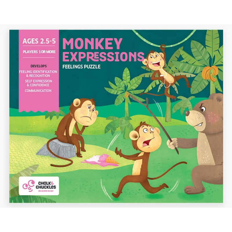 Monkey Expression Box Front