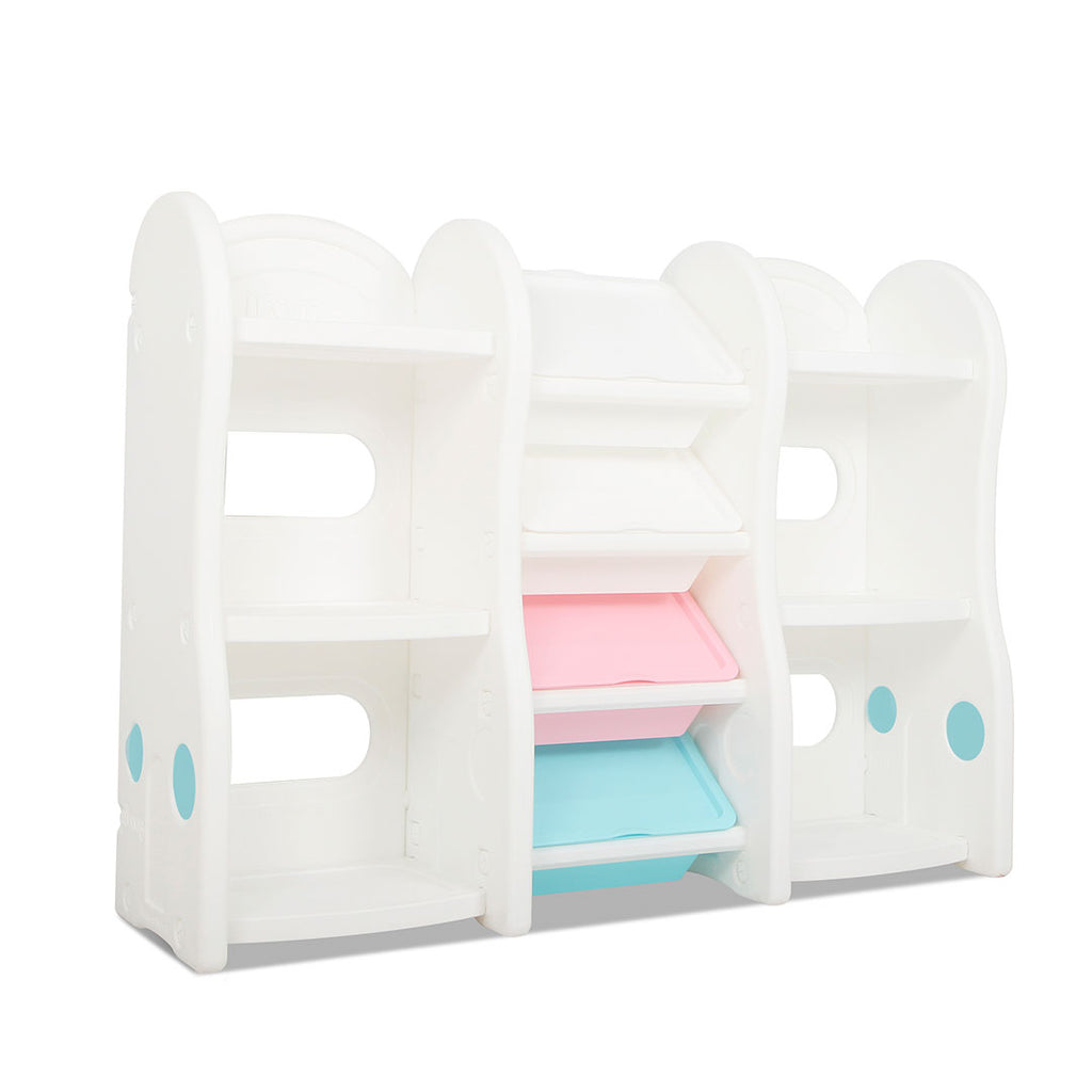 PASTEL Compact Toy Storage & Bookshelf